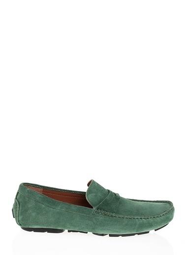 Kebo %100 Deri Loafer Yeşil